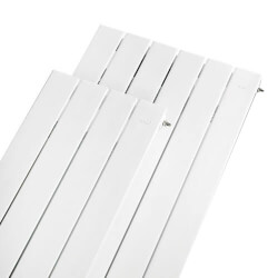 "VLX 14/14 Wall Panel Radiator - 96"" W x 5-3/4"" H, CL Connections (600 BTUH/ft) Product Image"