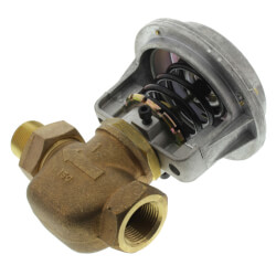"1"" Unit Vent Valve, Right Angle Body (10 Cv) Product Image"
