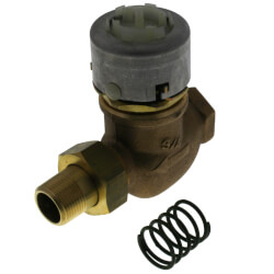 "3/4"" NPT Male Union<br>2-Way Unitary Valve<br>(3 Cv) Product Image"