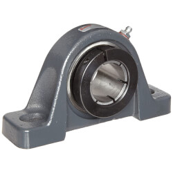 """1-7/16"""" Normal Duty Air Handling 2-Bolt Pillow Block w/ BOA Concentric Lock Product Image"""