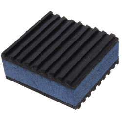 "E.V.A. Anti-Vibration Pad 2"" x 2"" x 7/8"" Product Image"