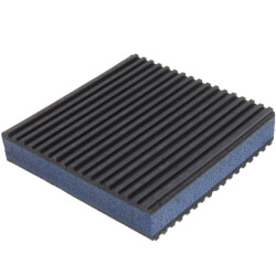 "E.V.A. Anti-Vibration Pad 4"" x 4"" x 7/8"" Product Image"