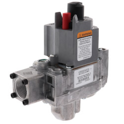 "Standard Dual Standing Pilot Gas Valve<br>3/4"" x 3/4"" Product Image"