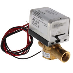 "3/4"" Inverted Flare 2-Way Zone Valve w/ End Switch 3.5 CV (24V) Product Image"