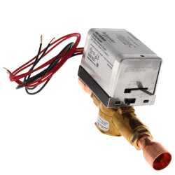 "3/4"" Inverted Flare 2-Way Zone Valve w/ End Switch, inc. Sweat Fittings (24V) Product Image"