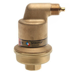 "1/2"" Spirotop Air Release Valve High Temp (Threaded) Product Image"
