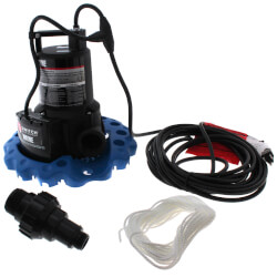 WAPC250 1/4 HP Automatic iSwitch Thermoplastic Pool Cover Pump (50 GPM) Product Image