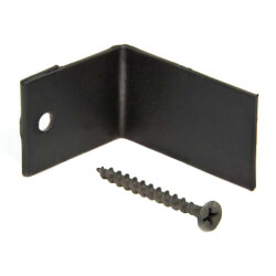 Wall Bracket w/ screws<br>for Baseboard Product Image
