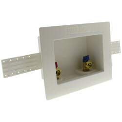 """1/2"""" Expansion PEX Washing Machine Outlet Box Product Image"""