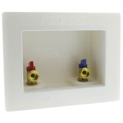 "1/2"" PEX Crimp Washing Machine Outlet Box  Product Image"