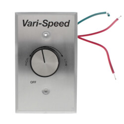 WC Series Variable Speed Control w/ On/Off Switch (5A) Product Image
