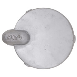 """6-5/8"""" Aluminum Conduit Well Cap Product Image"""