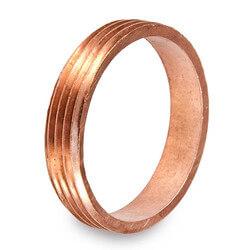 "2"" DWV Cast Brass Trap (CxM) - Marvel Thread Piece Product Image"