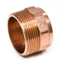 """2"""" Copper DWV<br>Male Street Adapter<br>(FTG x Male) Product Image"""