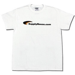White SupplyHouse T-Shirt - Size 2XL Product Image