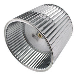 """11 x 10"""" CW Blower Wheel w/ 1/2"""" Bore Product Image"""