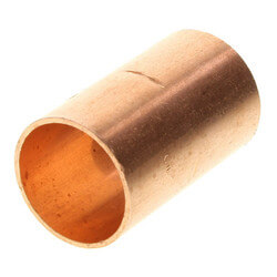 """1/2"""" Copper Coupling Product Image"""