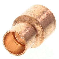 """3/4"""" x 1/2"""" Copper Coupling Product Image"""