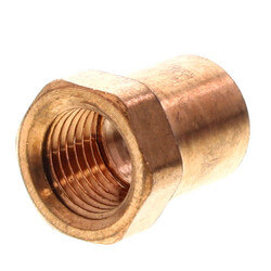 """3/8"""" x 1/4"""" Copper x Female Adapter Product Image"""