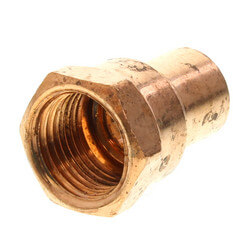 """1/2"""" Copper x Female Adapter Product Image"""