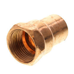"""3/4"""" Copper x Female Adapter Product Image"""