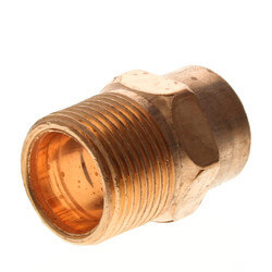 """3/4"""" Copper x Male Adapter Product Image"""