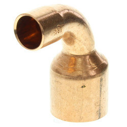 "1"" x 1/2"" Copper 90° Elbow Product Image"