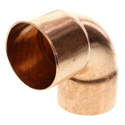 "2-1/2"" Copper 90° Elbow Product Image"