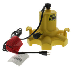 WWB WaterBUG Submersible Water Removal Pump w/ Multi-Flo Technology Product Image