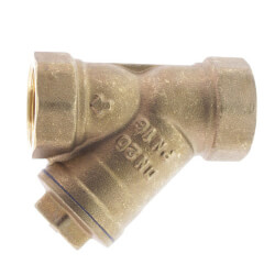 "3/4"" Bronze Wye Strainer, Lead Free (Threaded) Product Image"