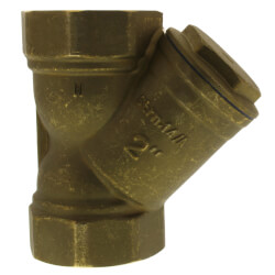 """2"""" Bronze Wye Strainer, Lead Free (Threaded) Product Image"""