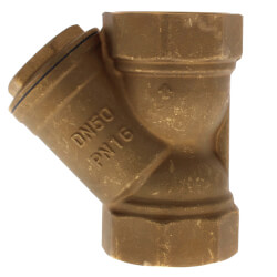 "2"" Bronze Wye Strainer, Lead Free (Threaded) Product Image"