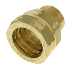 """1"""" Straight Fitting x 1"""" Male NPT Product Image"""