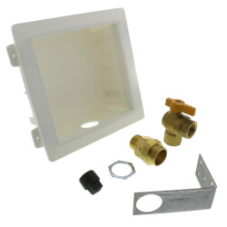 Gas Outlet Box Kit - 3/4 Male XR3 Fitting  Product Image