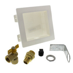 Gas Outlet Box Kit - 1/2 Male XR3 Fitting  Product Image