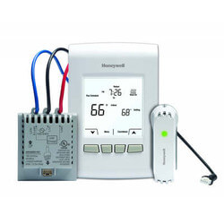 Wireless Programmable/ Non-Programmable <br>Line V Thermostat Kit Product Image