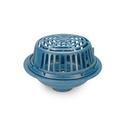 "3"" x 15"" Diameter Main Roof Drain (90&deg Threaded Side Outlet Body) Product Image"