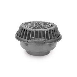 "8"" x 20"" Diameter High Capacity Main Roof Drain (No Hub Outlet) Product Image"