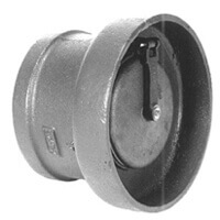 "4"" Z1091 Cast-Iron Flapper Type Backwater Valve Product Image"