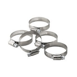 "5"" Stainless Steel Gear Clamp Product Image"
