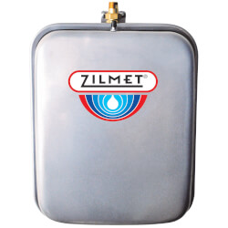 Flat Rectangular Hydronic Wall Hung Expansion Tank w/ Union Check (4.8 Gal.) Product Image
