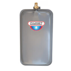 Flat Rectangular Hydronic Wall Hung Expansion Tank w/ Union Check (2.1 Gal.) Product Image