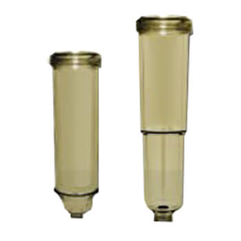 """3/4"""" Chemical Resistant Sediment Trapper Filter Housing Cover Product Image"""