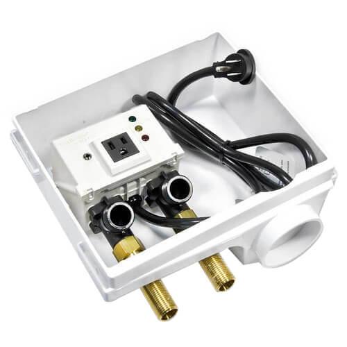 A2C-WB, IntelliFlow Automatic Washing Machine Water Shutoff Valve w/ Leak Sensor Product Image