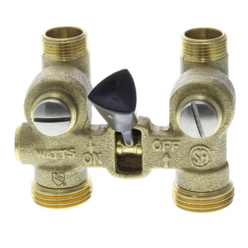 "1/2"" Sweat 2-M2, Washing Machine Shutoff Valve Product Image"