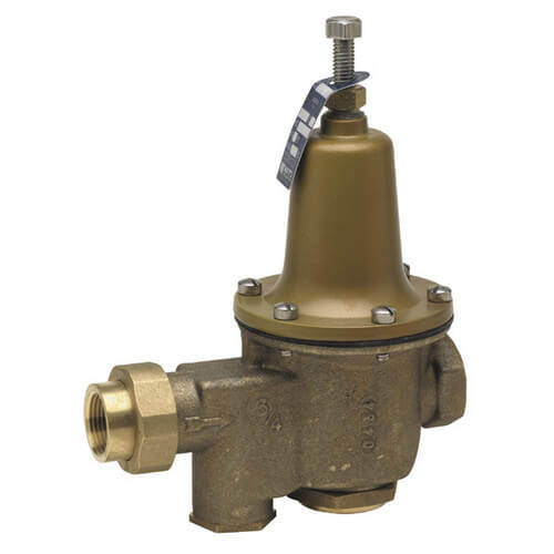 "1/2"" LFU5B-Z3 Pressure Reducing Valve with Bypass Check Valve, Lead Free Product Image"