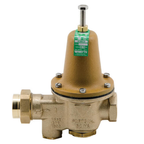 """2"""" LFU5B-Z3 Pressure Reducing Valve with Bypass Check Valve, Lead Free Product Image"""