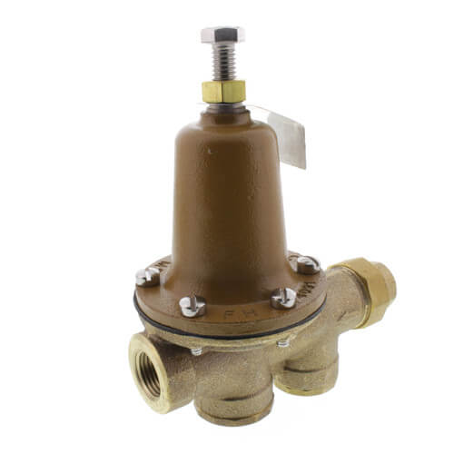"1/2"" LF25AUB-Z3 Pressure Reducing Valve (Threaded F Union Inlet x NPT Threaded F Outlet) Product Image"
