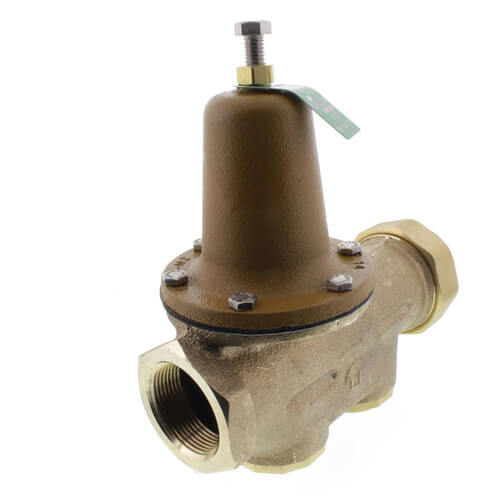 """1-1/2"""" LF25AUB-Z3 Pressure Reducing Valve, Lead Free (Threaded F Union Inlet x NPT Threaded F Outlet) Product Image"""