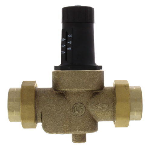 "1"" LFN45BM1-DU-EZ Water Pressure Reducing Valve with Adjustable Pressure Setting, Lead Free Product Image"